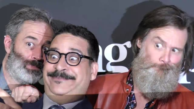 jim carrey erik griffin at the premiere of showtime's 'i'm dying up here' arrivals on may 31 2017 in los angeles california - jim carrey bildbanksvideor och videomaterial från bakom kulisserna