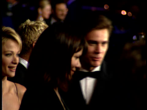 jim carrey lauren holly on the red carpet - lauren holly stock videos and b-roll footage