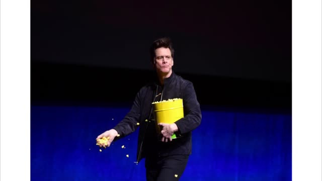 Jim Carrey speaks onstage at CinemaCon 2019 Paramount Pictures Invites You to an Exclusive Presentation Highlighting Its Upcoming Slate at The...