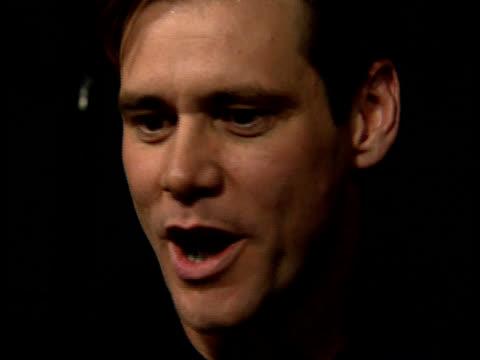 Jim Carrey talks about comedic talent