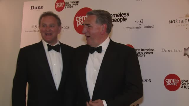 BROLL Jim Carter Hugh Bonneville at The Downton Abbey Ball on 30th April 2015 in London England
