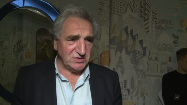 Jim Carter on Emma Thompson Jim Broadbent and read throughs at The Soho Hotel on March 28 2018 in London England
