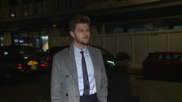 Jim Chapman on January 08 2018 in London England