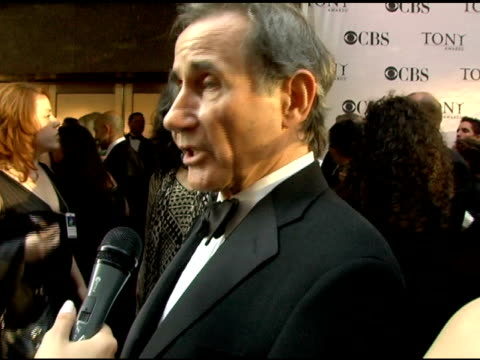 jim dale nominee for best featured actor in a musical for 'the threepenny opera' on what a pleasure it is working with such a talented ensemble and... - radio city music hall stock videos & royalty-free footage