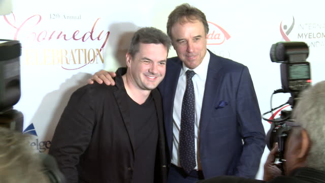 jim jefferies kevin nealon at the wilshire ebell theatre on november 03 2018 in los angeles california - wilshire ebell theatre stock videos & royalty-free footage