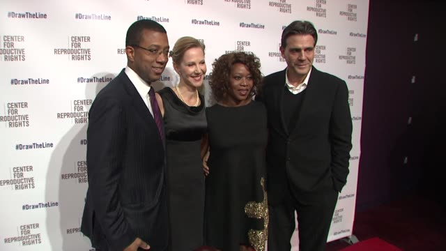 jim johnson nancy northup alfre woodard roderrick spencer at center for reproductive rights 2013 gala at jazz at lincoln center on 10/29/13 in new... - alfre woodard stock videos & royalty-free footage