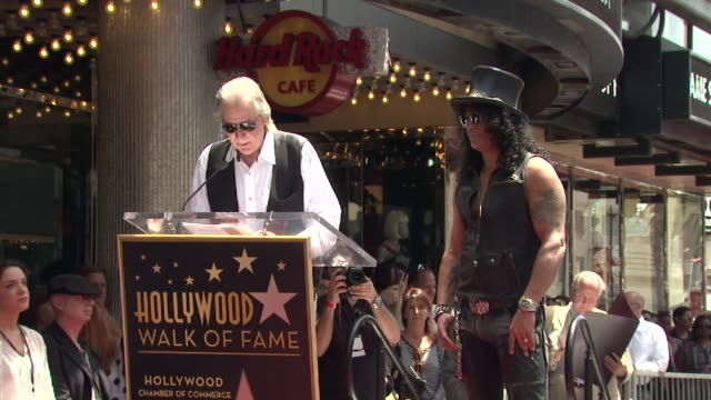 Jim Ladd on Slash as a great guitarist on meeting Slash and on Slash as a wonderful guy at Slash Honored With Star On The Hollywood Walk Of Fame...