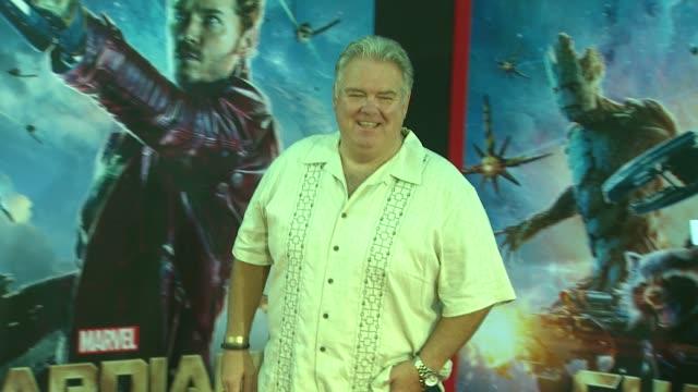 jim o'heir at the guardians of the galaxy world premiere at the el capitan theatre on july 21 2014 in hollywood california - el capitan theatre bildbanksvideor och videomaterial från bakom kulisserna