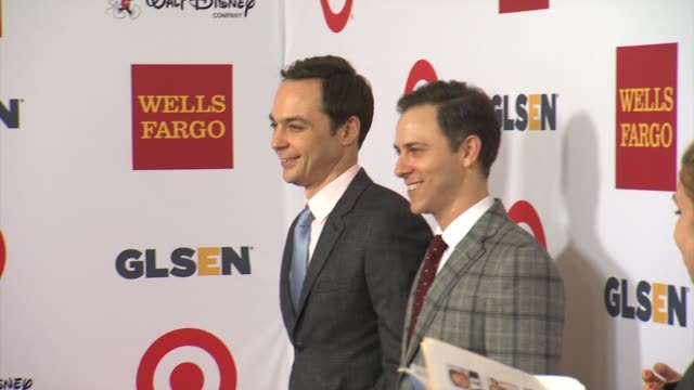 jim parsons at 10th annual glsen respect awards in los angeles ca - jim parsons stock videos and b-roll footage