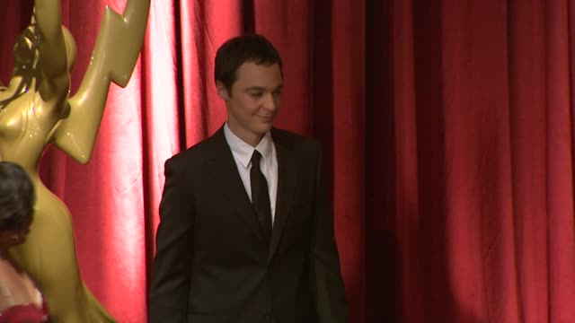 jim parsons at the 61st primetime emmy_ awards nominations announcement at north hollywood ca. - emmy awards stock-videos und b-roll-filmmaterial