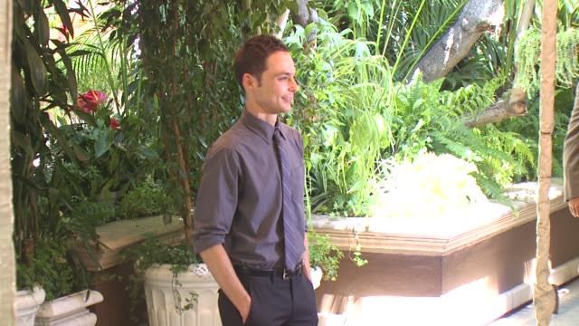jim parsons at the hollywood foreign press association's installation luncheon at los angeles ca - jim parsons stock videos and b-roll footage