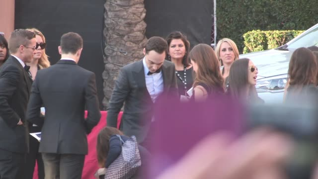 jim parsons exchanges greetings with fans at the sag awards at the shrine auditorium in los angeles celebrity sightings in los angeles ca on - jim parsons stock videos and b-roll footage