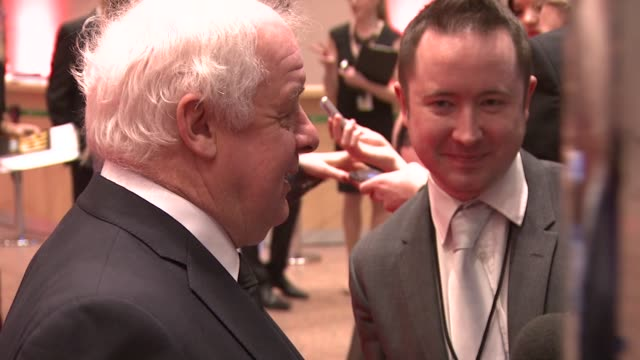 jim sheridan at the iftas at convention centre dublin, ireland on february 11th 2012 - irish film and television awards stock videos & royalty-free footage