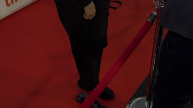 Jim Sturgess arrives on the red carpet of 'Jeremiah Terminator LeRoy' during the Toronto International Film Festival on September 15 2018 in Toronto...