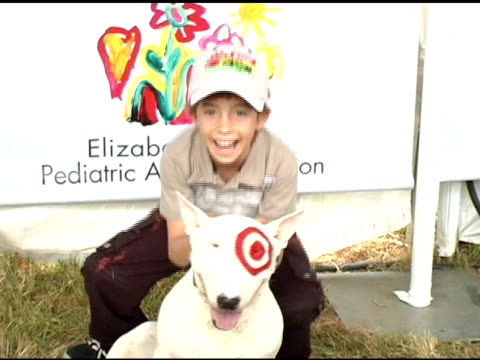 jimmy barnett at the target 'a time for heros' celebrity carnival to benefit the elizabeth glaser pediatric aids foundation at the wadsworth theatre... - elizabeth glaser pediatric aids foundation stock videos & royalty-free footage