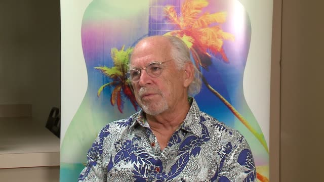 wgn jimmy buffett talks process of writing musical escape to margaritaville and his exposure to musical theater on july 17 2017 - musical theater stock videos and b-roll footage