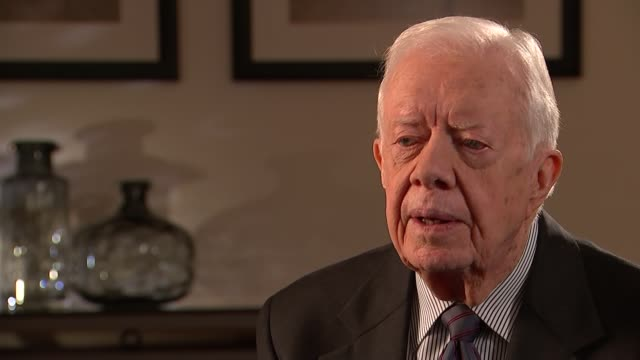 jimmy carter campaign to eradicate guinea worm disease; england: london: int jimmy carter - jimmy carter us president stock videos & royalty-free footage