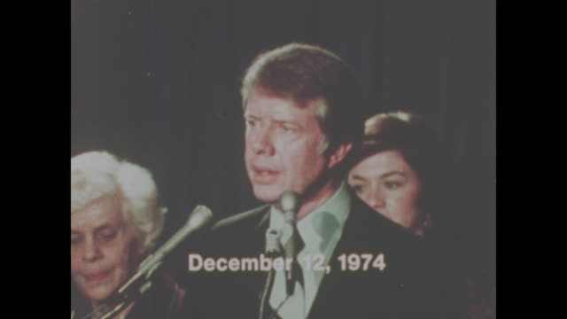 jimmy carter speaks in 1974, says 'i would not tell a lie'. with sound. - jimmy carter us president stock videos & royalty-free footage