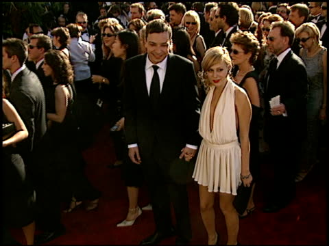 jimmy fallon at the 2002 emmy awards at the shrine auditorium in los angeles california on september 22 2002 - jimmy fallon stock videos and b-roll footage