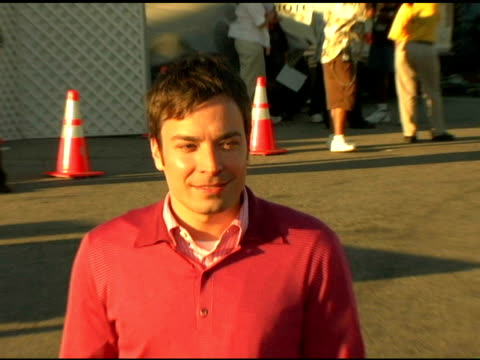 jimmy fallon at the 2004 teen choice awards arrivals at the universal amphitheatre in universal city california on august 8 2004 - jimmy fallon stock videos and b-roll footage