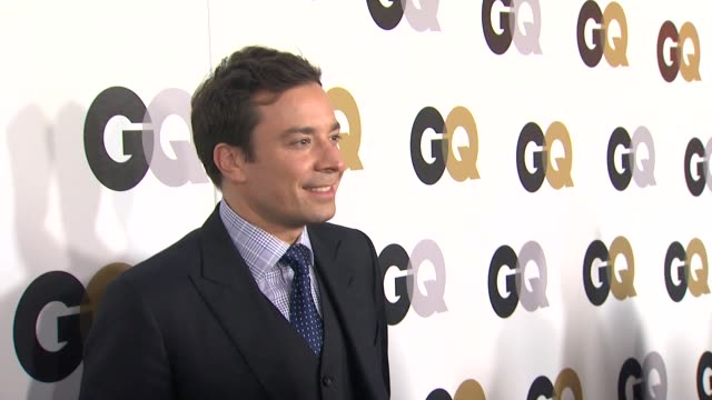 jimmy fallon at the gq's 2011 'men of the year' party at los angeles ca - jimmy fallon stock videos and b-roll footage