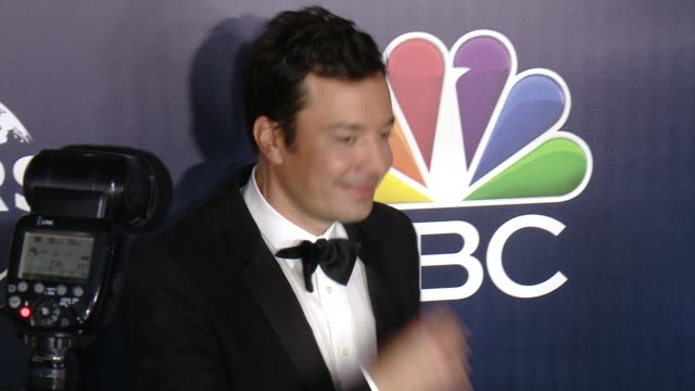 jimmy fallon at the nbcuniversal's 74th annual golden globes after party at the beverly hilton hotel on january 8 2017 in beverly hills california - jimmy fallon stock videos and b-roll footage