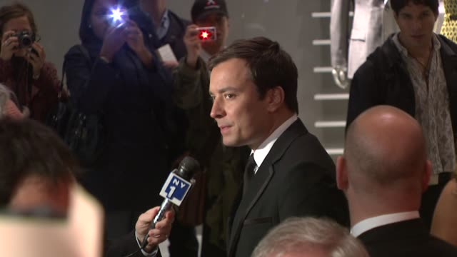 jimmy fallon at the time 100 gala celebrating the 100 most influential people in the world at new york ny - jimmy fallon stock videos and b-roll footage