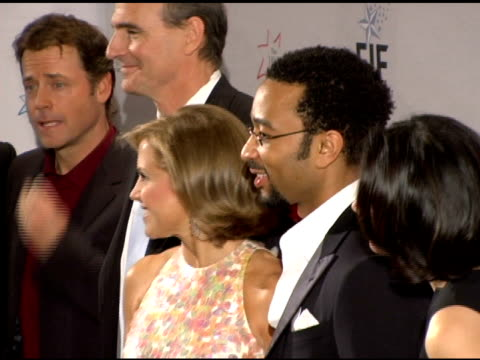 jimmy fallon greg kinnear elmo katie couric james taylor john legend and ann curry at the 'hollywood meets motown' benefit for national colorectal... - jimmy fallon stock videos and b-roll footage