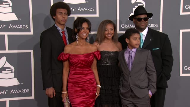 Jimmy Jam and family at 54th Annual GRAMMY Awards Arrivals on 2/12/12 in Los Angeles CA