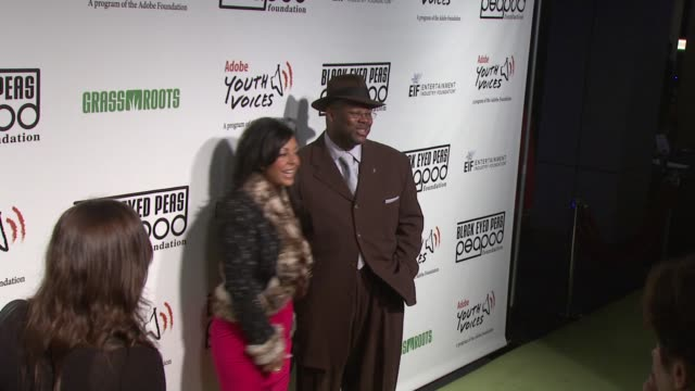 jimmy jam at the 5th annual black eyed peas peapod foundation benefit concert at los angeles ca - benefit concert stock videos & royalty-free footage