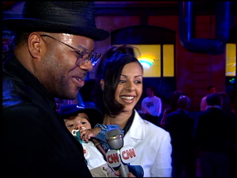 jimmy jam at the 'space jam' party at warner brothers studios in burbank, california on november 10, 1996. - space jam stock videos & royalty-free footage