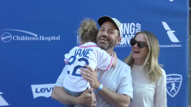 jimmy kimmel at the 5th annual ping pong 4 purpose arrivals on july 27 2017 in los angeles california - jimmy kimmel stock videos and b-roll footage