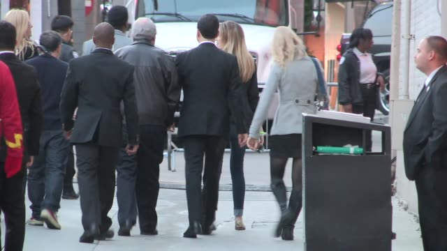 stockvideo's en b-roll-footage met jimmy kimmel at the jimmy kimmel studio in hollywood at celebrity sightings in los angeles on april 03, 2014 in los angeles, california. - jimmy kimmel