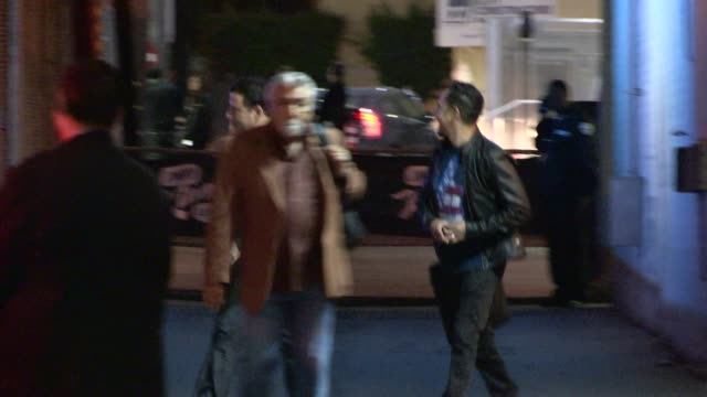 jimmy kimmel departs from the jimmy kimmel studio in hollywood in celebrity sightings in los angeles - jimmy kimmel stock videos and b-roll footage