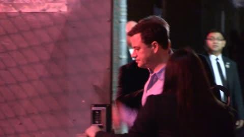 stockvideo's en b-roll-footage met jimmy kimmel departs hollywood, 09/11/12 - jimmy kimmel