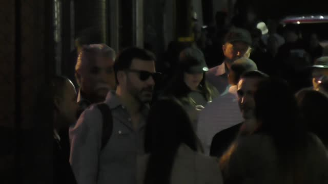 jimmy kimmel outside jimmy kimmel live in hollywood celebrity sightings on march 06 2017 in los angeles california - jimmy kimmel stock videos and b-roll footage