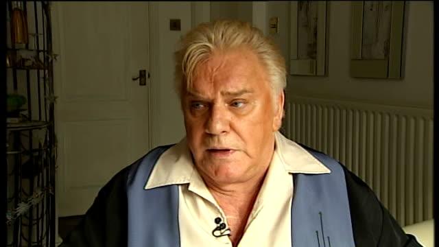 Freddie Starr interview ENGLAND Warwickshire INT **NOTE only Freddie Starr responses heard reporter's questions not heard** Freddie Starr 2 WAY...