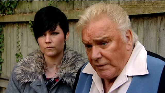 jimmy savile abuse claims / number of allegations growing warwickshire studley ext freddie starr interview sot never have done and never would do... - ジミー サヴィル点の映像素材/bロール