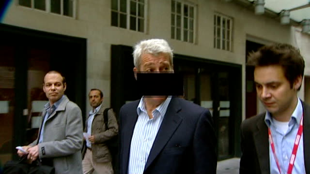 publishes evidence given to pollard review; t22101201 / tx 22.20.2012 graphicised shot jeremy paxman along as black graphic appears across his face - jeremy paxman stock videos & royalty-free footage