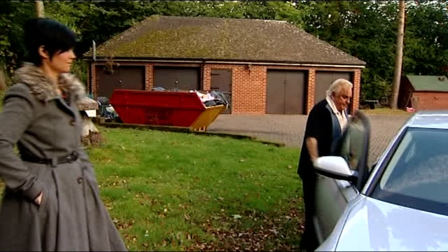 freddie starr arrested tx warwickshire studley ext freddie starr and fiancee sophie lea outside home and along to car freddie starr interview with... - fiancé stock videos & royalty-free footage