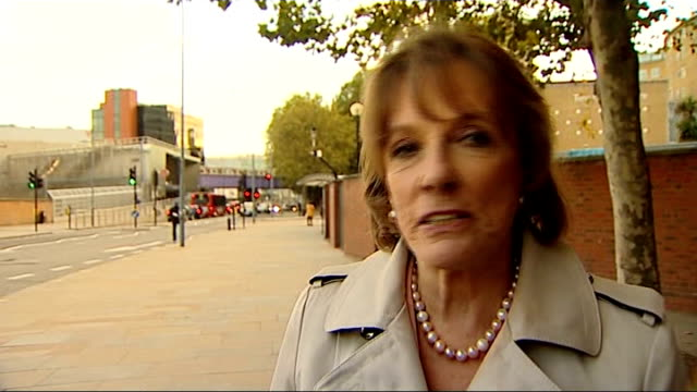 victims could sue Department of Health EXT Esther Rantzen interview SOT a rumour is such a slippery thing / don't think you can hold anyone...
