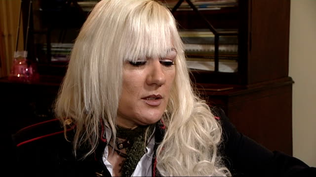 victims tell of abuse at broadmoor and stoke mandeville hospitals debbie curtis interview sot - ジミー サヴィル点の映像素材/bロール