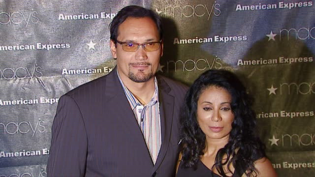 Jimmy Smits and Wanda DeJesus at the Macy's Passport Gala 2006 at Santa Monica Airport's Barker Hanger in Santa Monica California on September 28 2006