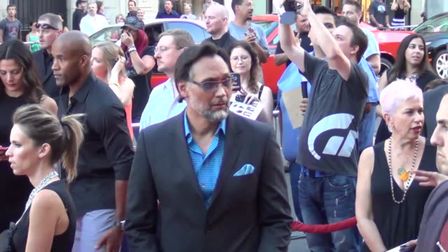 jimmy smits arrives to the sons of anarchy season 6 premiere at kodak theatre in hollywood at celebrity sightings in los angeles jimmy smits arrives... - jimmy smits stock videos and b-roll footage