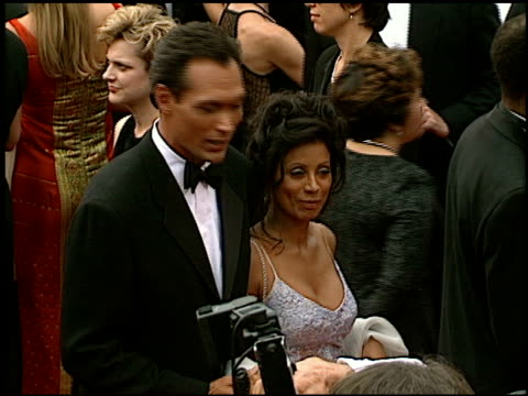 jimmy smits at the 1997 emmy awards arrivals at the pasadena civic auditorium in pasadena california on september 14 1997 - jimmy smits stock videos and b-roll footage