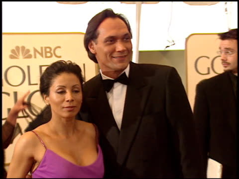 jimmy smits at the 1999 golden globe awards at the beverly hilton in beverly hills california on january 24 1999 - jimmy smits stock videos and b-roll footage