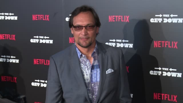 jimmy smits at the get down premiere at lehman center for the performing arts on august 11 2016 in new york city - jimmy smits stock videos and b-roll footage