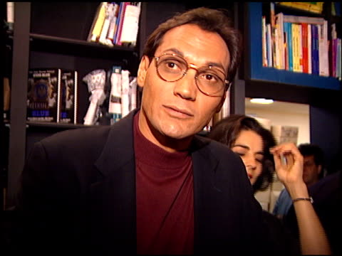 jimmy smits at the nypd blue book signing at book soup in west hollywood california on november 6 1995 - jimmy smits stock videos and b-roll footage