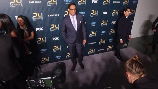 jimmy smits at24 legacy premiere event red carpet at spring studios on january 30 2017 in new york city - jimmy smits stock videos and b-roll footage