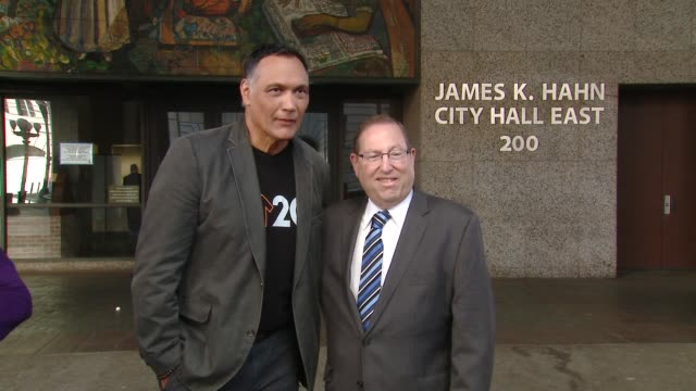 jimmy smits councilmember paul koretz at stand up to cancer day 2018 in los angeles ca - jimmy smits stock videos and b-roll footage